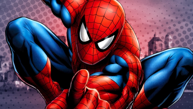 Spider-Man, Spider-Man, does whatever etc., etc.