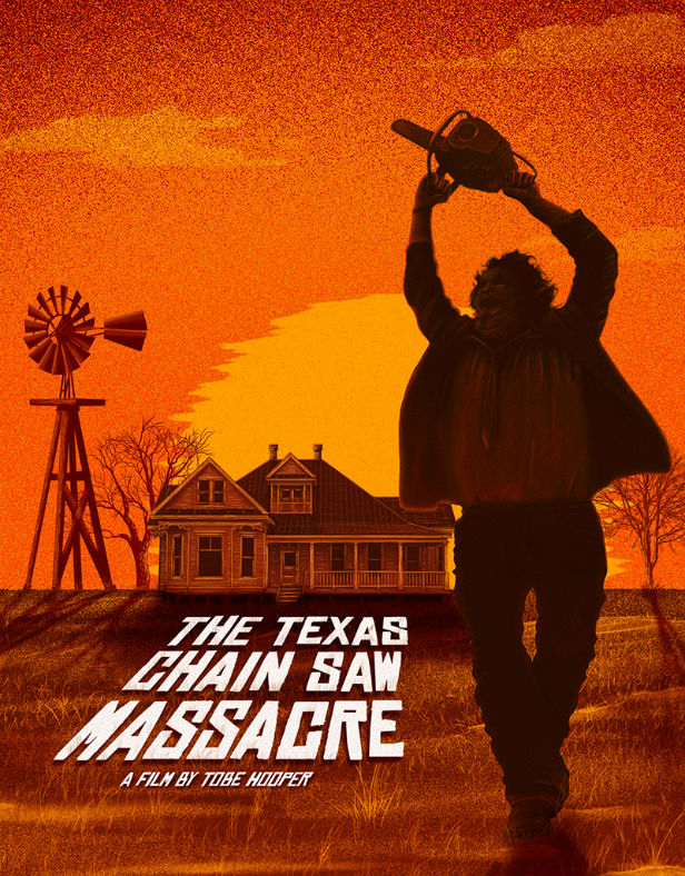 Doaly's The Texas Chainsaw Massacre artwork