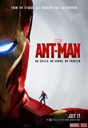 Ant-Man posters and TV spot take the piss
