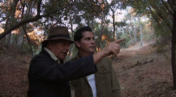 Ray Wise and Adam Green in Digging Up The Marrow