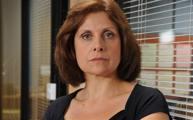 Rebecca Front as Nicola Murray in The Thick Of It