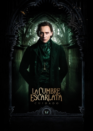 Crimson Peak character posters are a classy spook fest