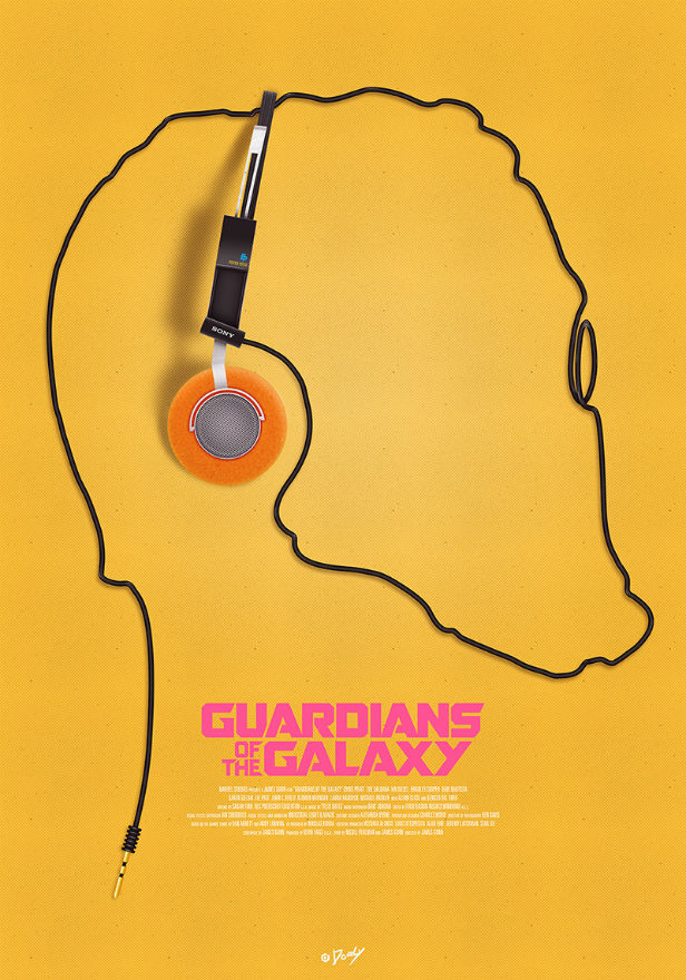 Doaly's artwork for Guardians Of The Galaxy