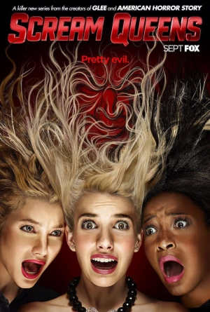 Scream Queens poster is pretty evil but still fabulous