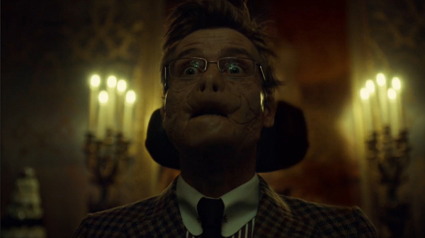 Mason Verger announcing his Face/Off cannibal plans
