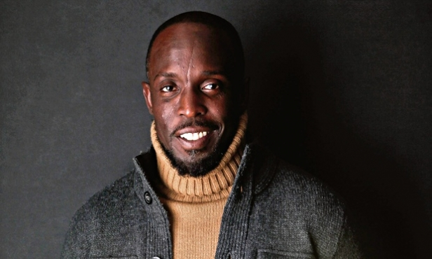 Michael K Williams' happy little face