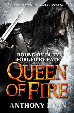 Anthony Ryan on Queen Of Fire and the end of Raven's Shadow