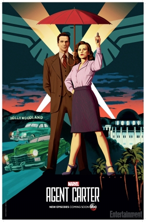 Agent Carter Season 2 Comic-Con art poster is sublime