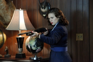 "Agent Carter's Hayley Atwell: ""I kicked 6 stuntmen in the balls"""