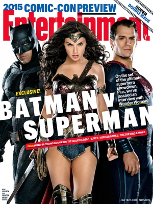Batman v Superman stills & EW cover show off Wonder Woman