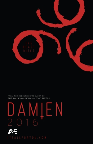 Damien Comic-Con poster sees the beast rise