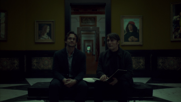 Will and Hannibal reconnect at the Uffizi