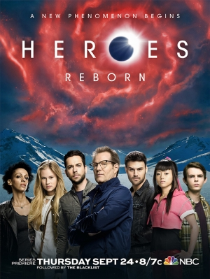 Heroes Reborn poster: A new phenomenon begins