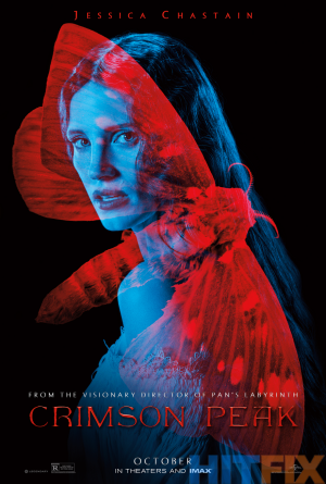 Crimson Peak Comic-Con posters are a thing of beauty