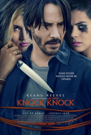 Knock Knock new international poster is atrocious