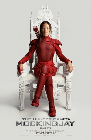 Hunger Games: Mockingjay Part 2 Katniss poster is flawless