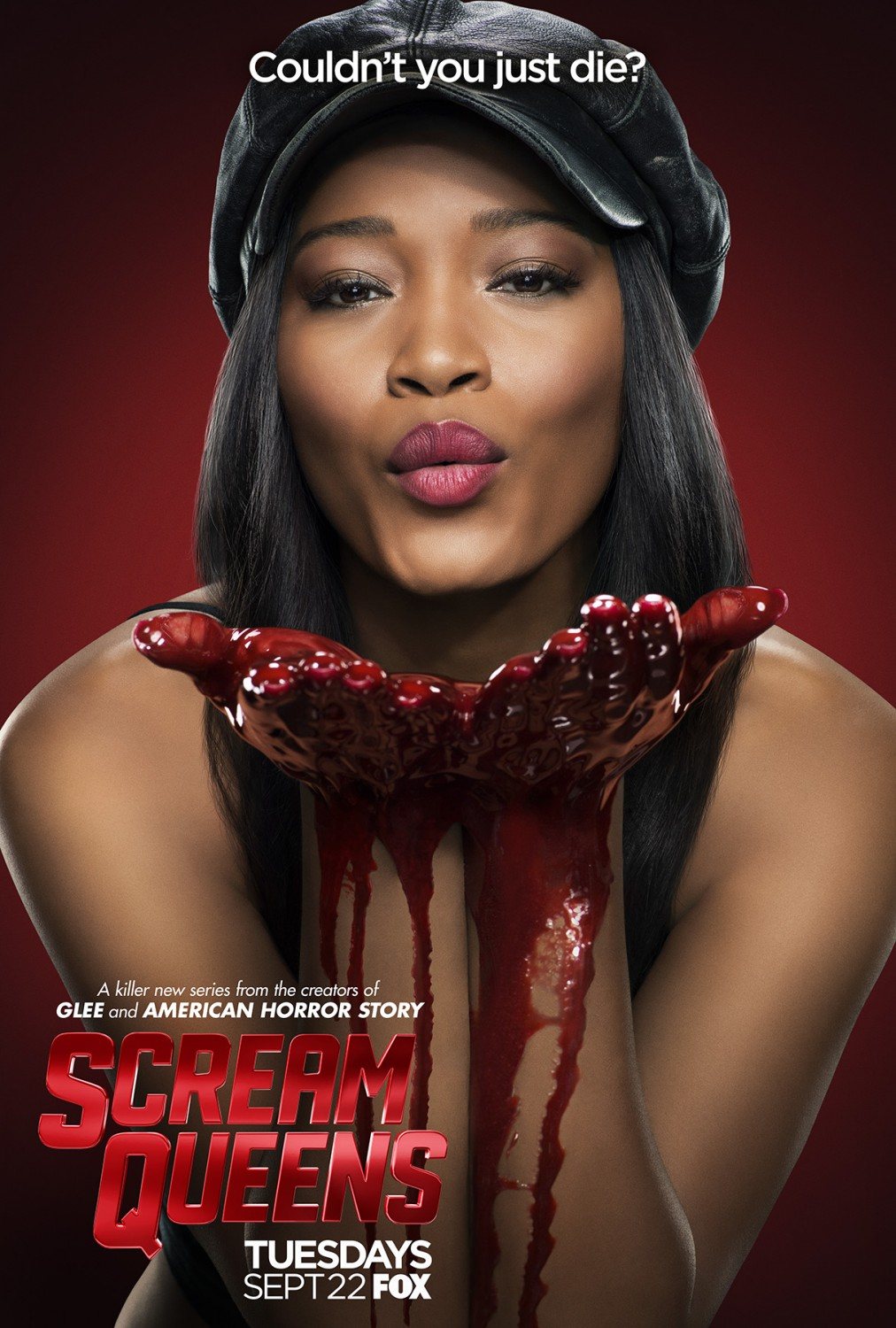 scream queens character posters look a bit guilty