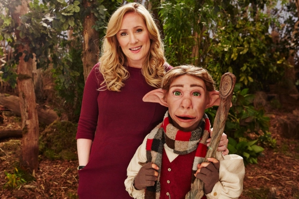 Debbie (Martha Howe-Douglas) and Elf (voiced by Mat Baynton)
