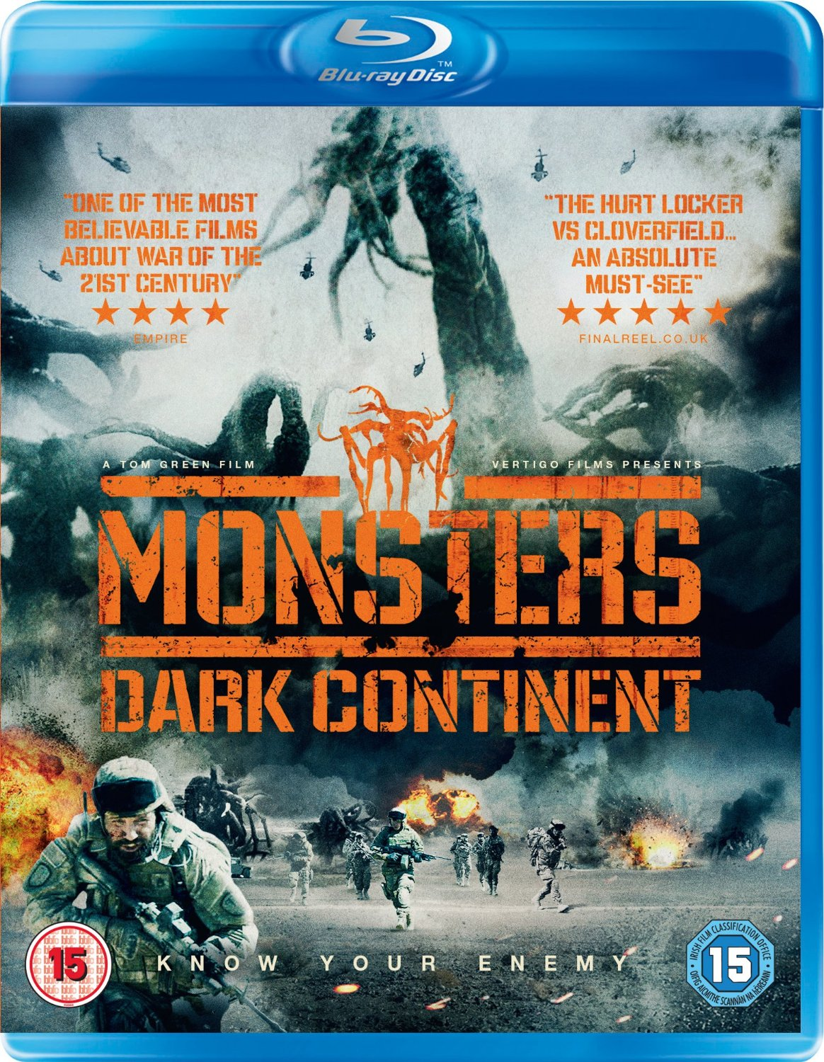 Monsters Dark Continent Blu-ray review