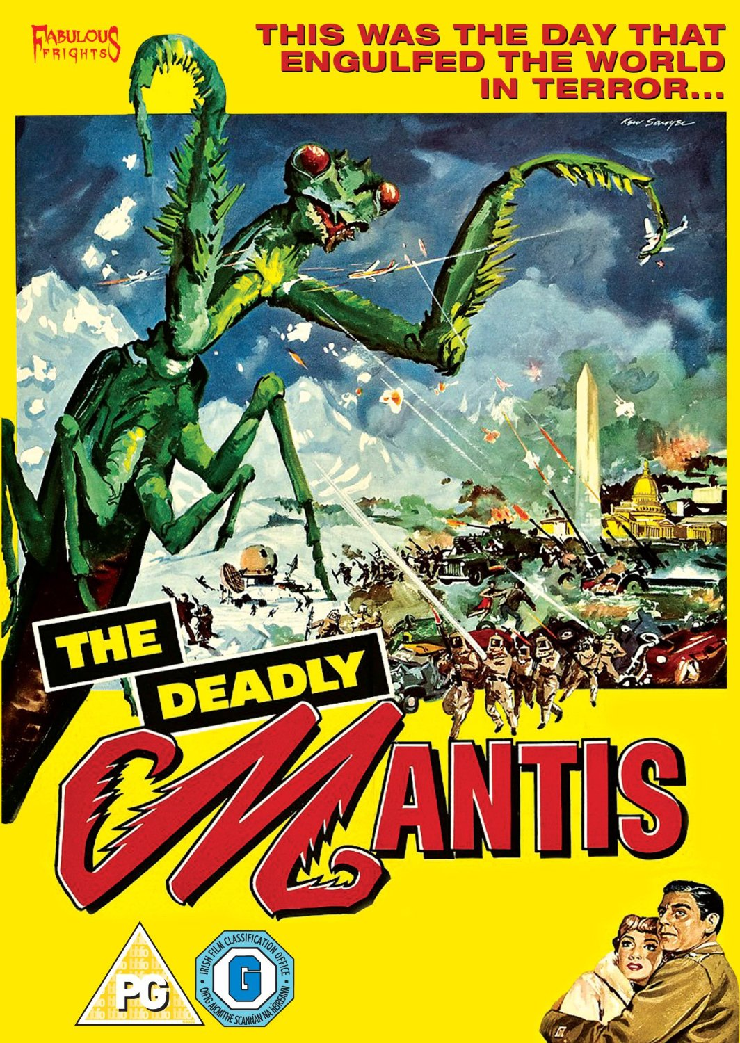 The Deadly Mantis DVD Review: the 50s monster movie returns