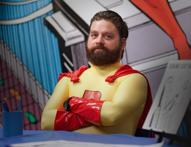 Zach Galifianakis in Bored To Death