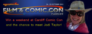 Win a weekend at Cardiff Comic Con and meet author Jodi Taylor!