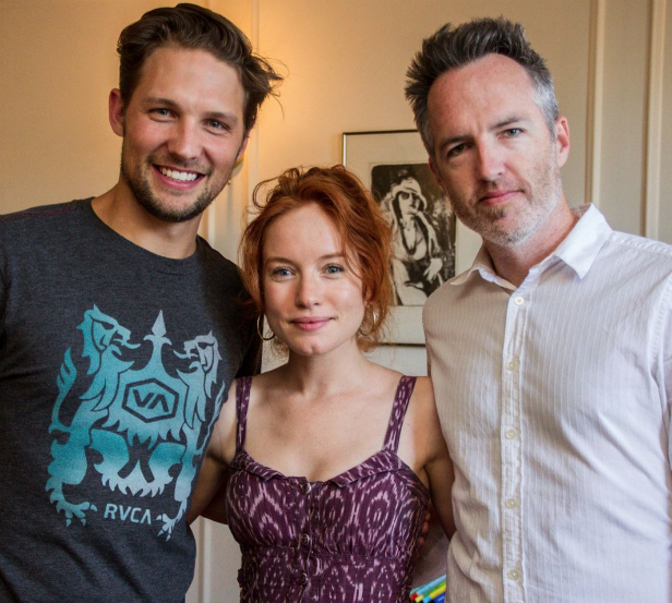 Michael Cassidy, Maria Thayer and Kyle Rankin