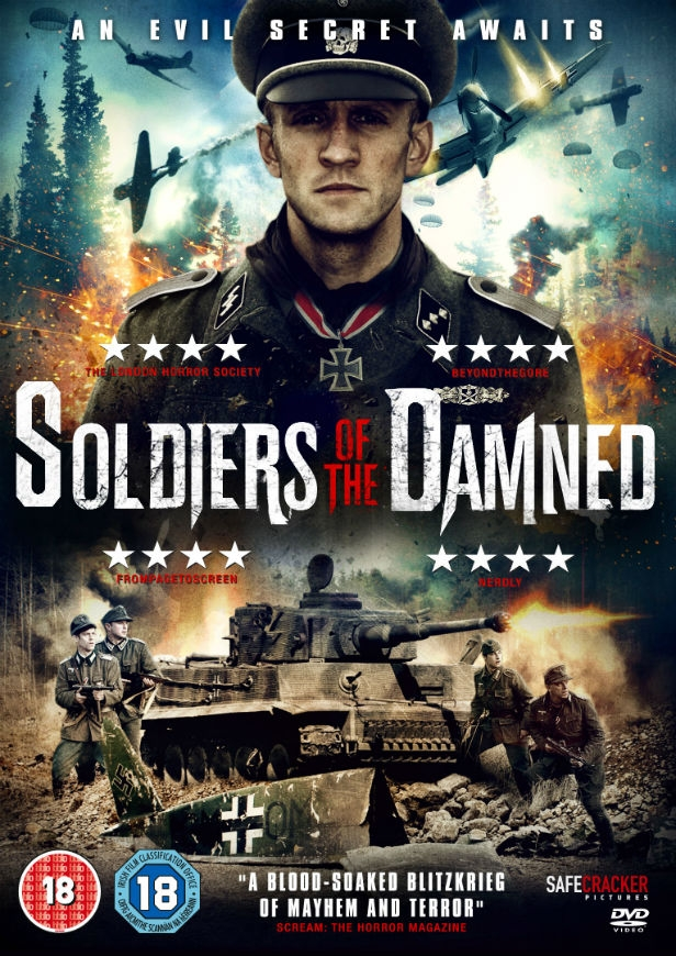 SOLDIERS OF THE DAMNED - DVD SLEEVE FRONT COVER
