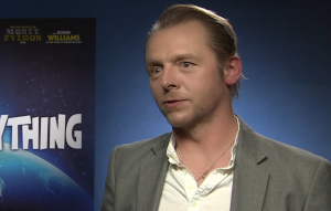 Absolutely Anything interview Simon Pegg's favourite films
