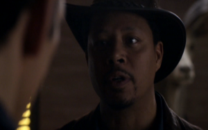 Wayward Pines clip Terrence Howard lays down the law