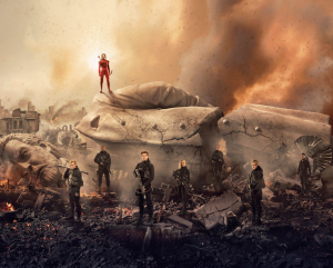 Hunger Games: Mockingjay Part 2 banner brings down Snow