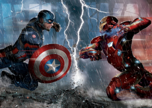 Captain American: Civil War art confirms teams