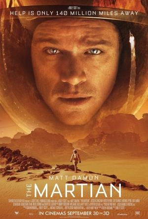 The Martian new poster has Matt Damon castaway in space