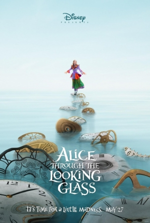Alice Through The Looking Glass posters get a little mad
