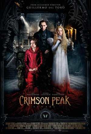 Crimson Peak new poster is eerie and blood-soaked