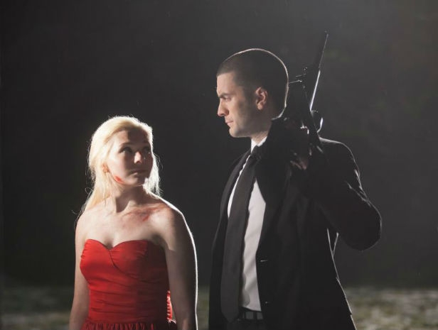 Abigail Breslin and Wes Bentley get to work in Final Girl