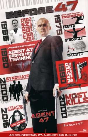 Hitman: Agent 47 new poster is okay, we guess