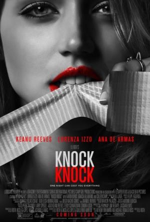 Knock Knock new posters plot sultry revenge