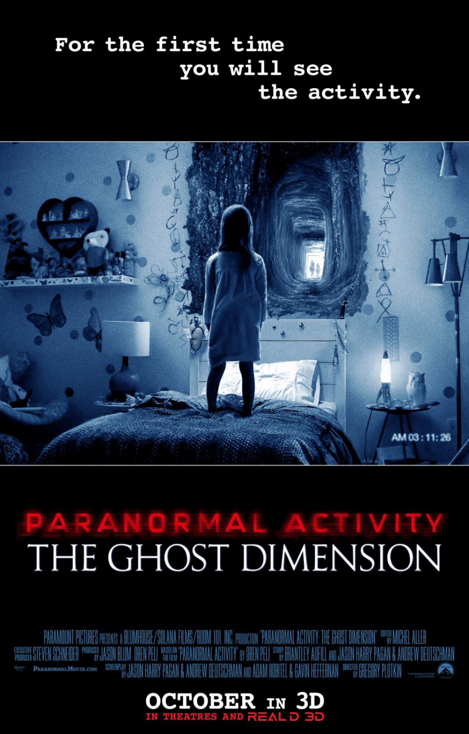 Paranormal Activity 5 poster has a terrible tagline  SciFiNow - The World's Best Science