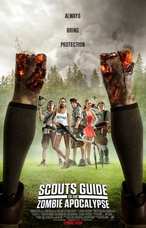 Scouts Guide To The Zombie Apocalypse poster gives advice