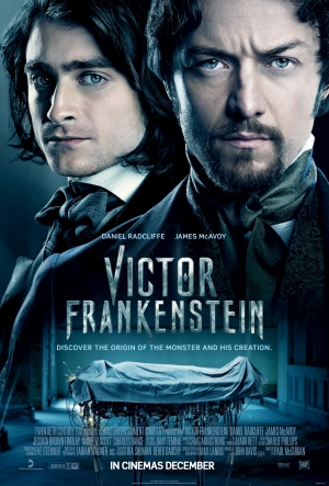 Victor Frankenstein new posters discover their origins