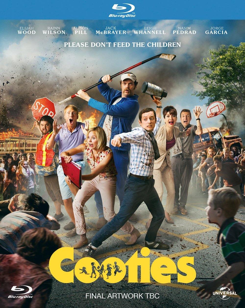 Cooties Blu-ray review: Frodo fights the undead