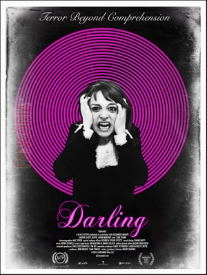 Darling awesome poster for Mickey Keating's next horror