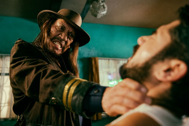 Danny Trejo bringing the pain in From Dusk Till Dawn