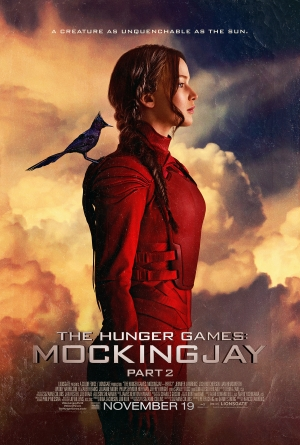 Mockingjay Part 2 poster is as unquenchable as the sun