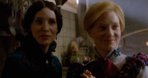 Crimson Peak new clip gives Mia Wasikowska a proper welcome