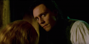 Crimson Peak new TV spot Tom Hiddleston is super sinister