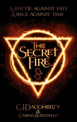 Secret Fire by CJ Daugherty and Carina Rozenfeld book review