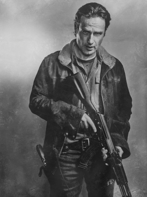 The Walking Dead Season 6 portraits are quite fan