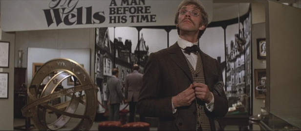 Malcolm McDowell's HG Wells discovers his own legacy in Time After Time